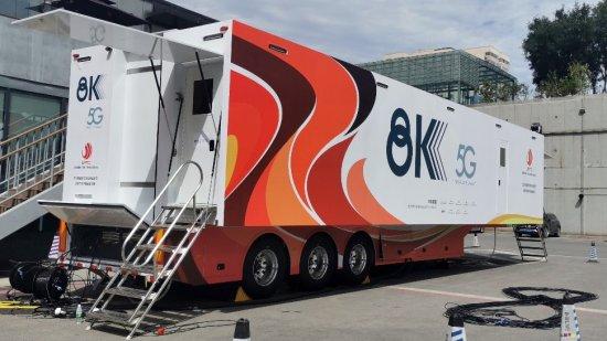 全球第一台「5G+8K」超高清視頻轉播車