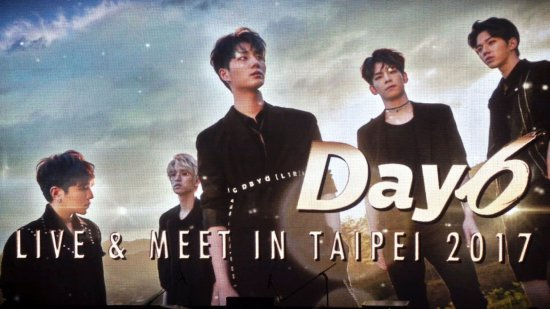 Day6 2nd LIVE&MEET IN TAIPEI 2017